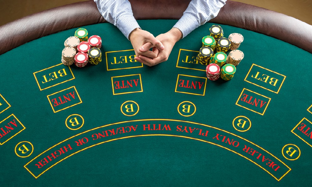 online casino table game