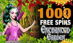 enchanted garden slot tournament offer