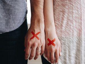 divorce couple break-up