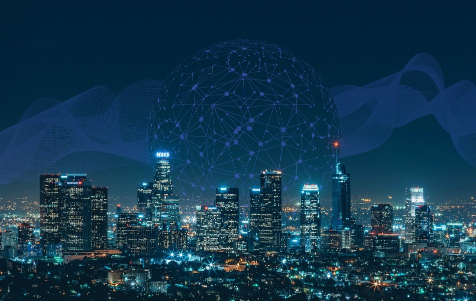 smart city functioning on blockchain