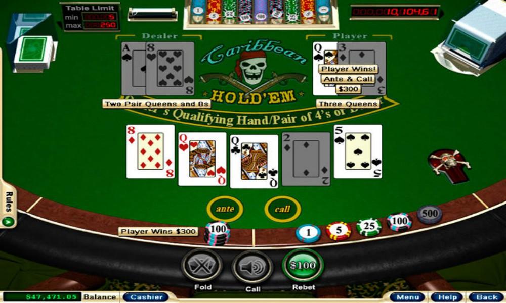 caribbean poker trilogy