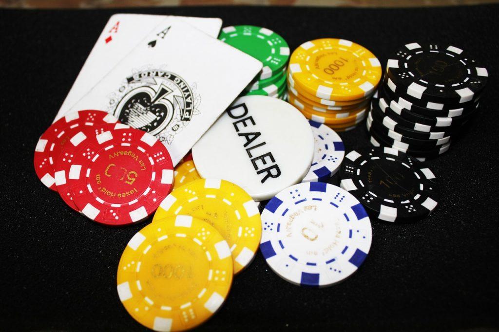 A professional gambler