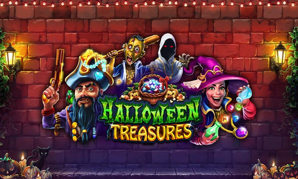 Halloween Treasures win