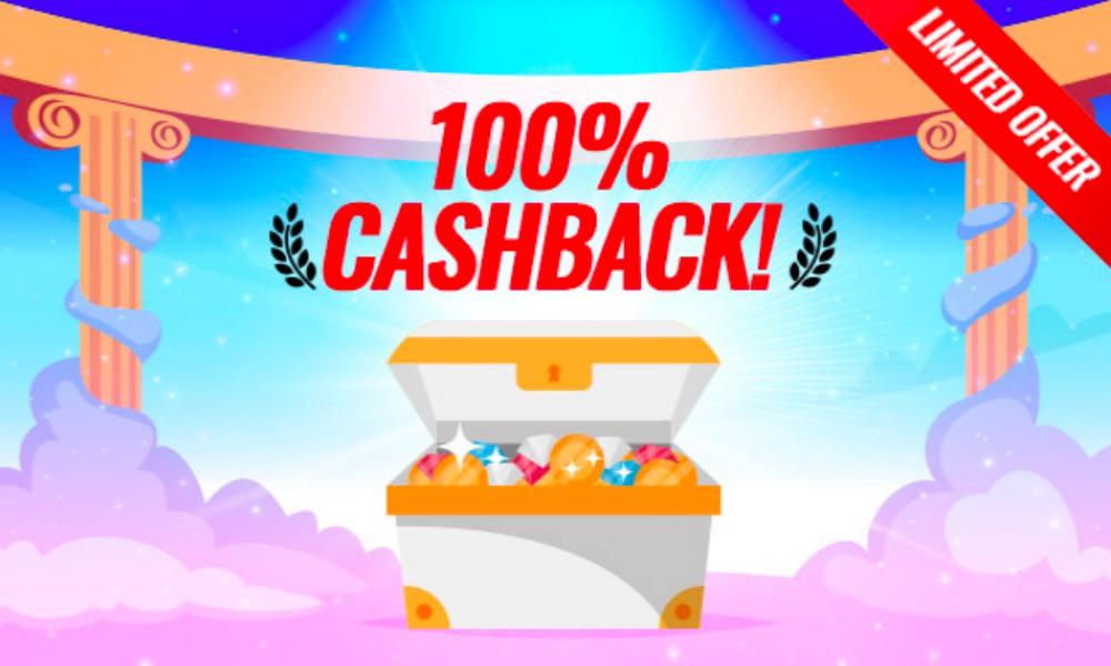 online casino bonus cashback