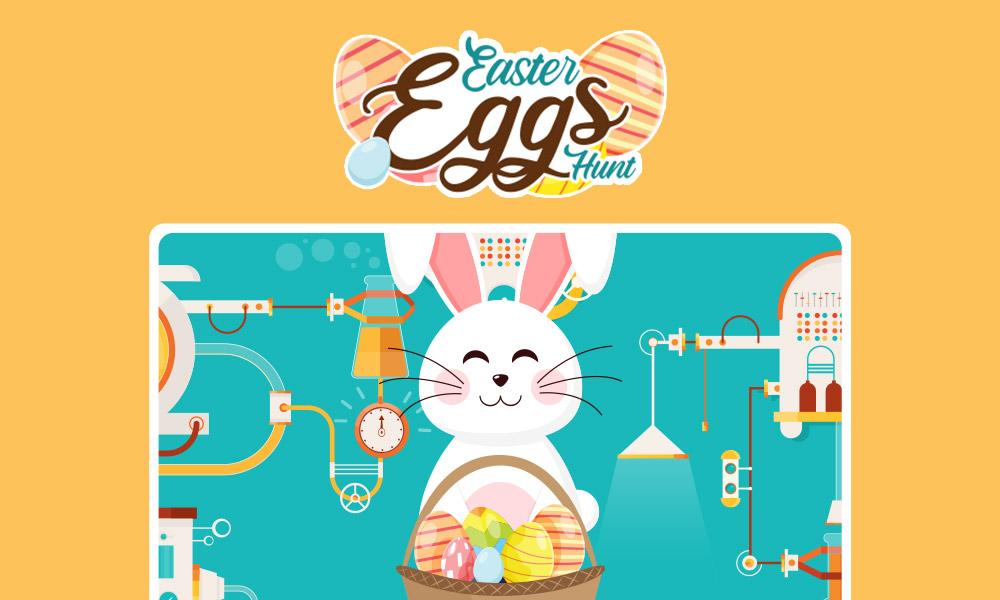 Easter Egg Hunt Promotion