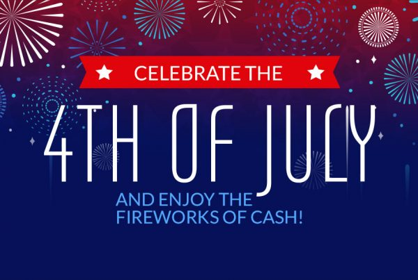 Fireworks of cash
