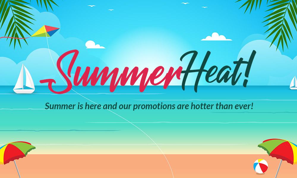 Summer Heat promotion