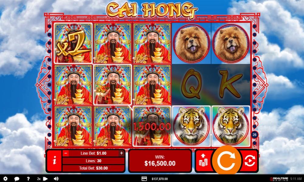 online slot win