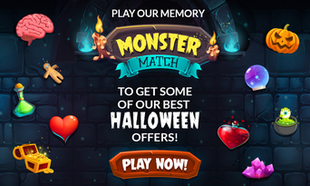 Halloween Monster Match play now