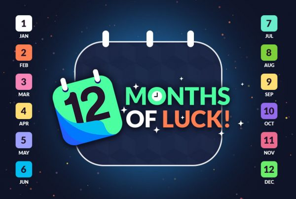 12 months of luck promotion