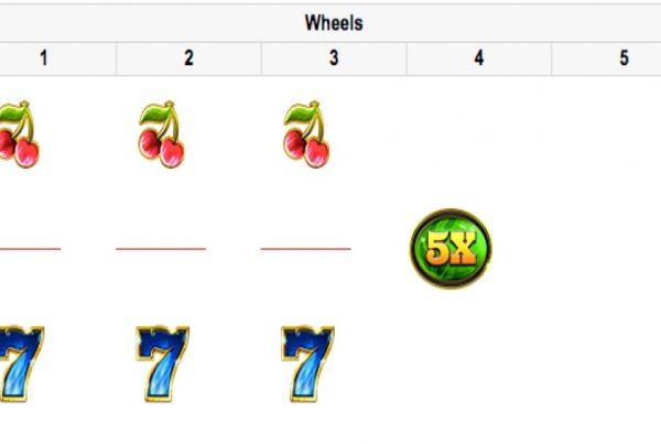 Wild Fire 7s winnings