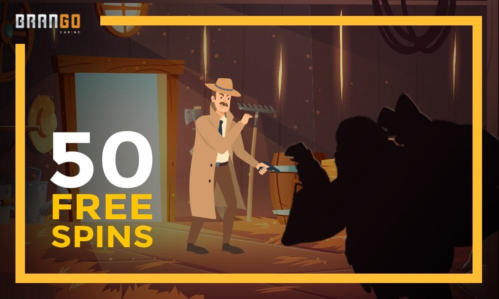 grab 50 free spins